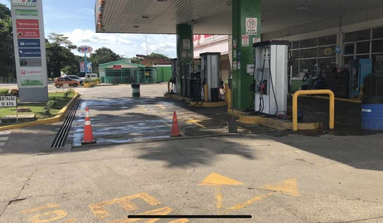 Guanacaste gas stations with little to no fuel