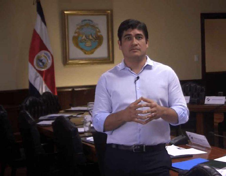 President Carlos Calls National Strike Unjustified, Unfair and Illegal
