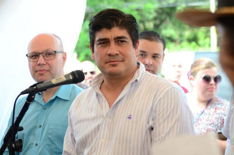Unions threaten President Alvarado's trip to the U.S. this month