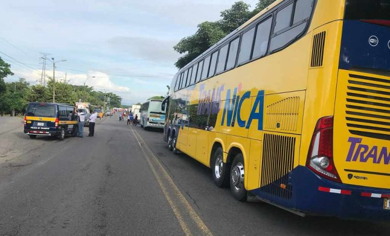 Transito To Fine Buses That Transport Strikers