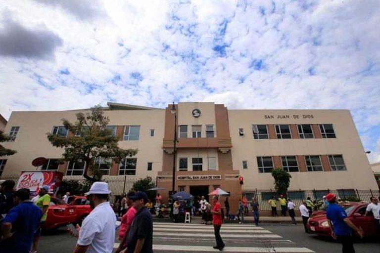 San Juan de Dios patients run out of food due to strike