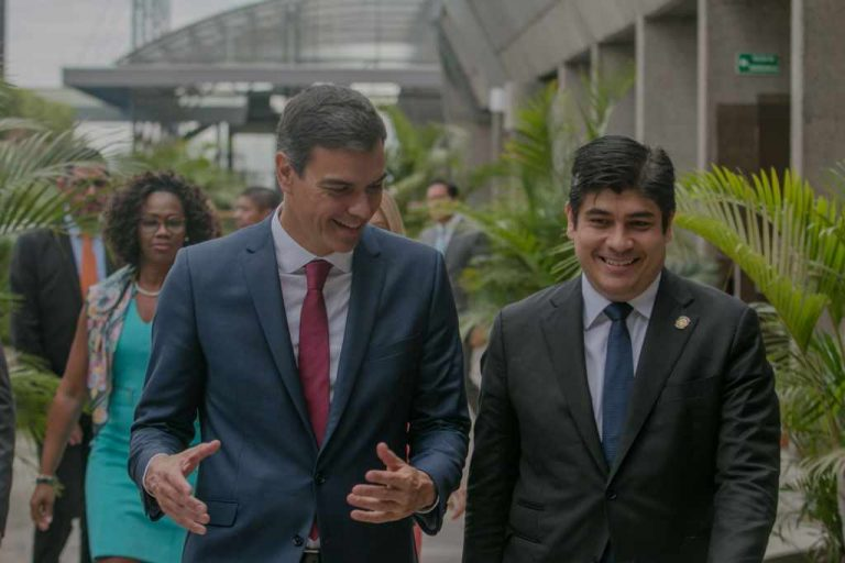 Spain recognizes Costa Rica as a strategic ally in the region in democracy and sustainable development