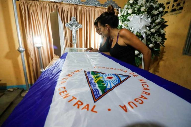At least one killed on Sunday in Nicaragua as protest tensions flare up again