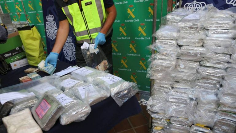 Historic blow to the narco: 6 tons of cocaine arrive in Spain in Containers Of Bananas From Costa Rica