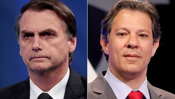 Brazil Elections: Bolsonaro, Haddad To Face Off In Second Round