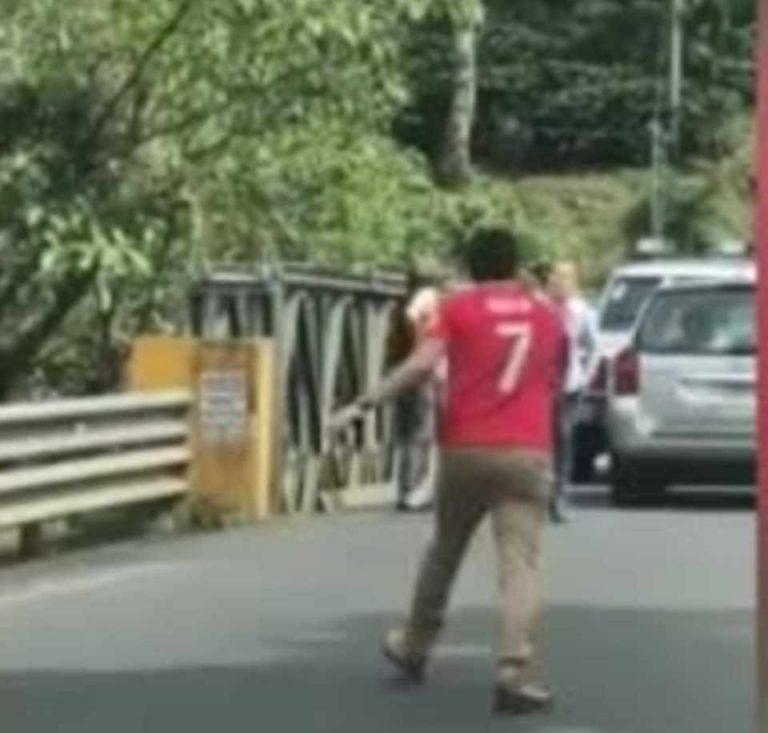 Road Rage In San Pedro de Poas de Alajuela