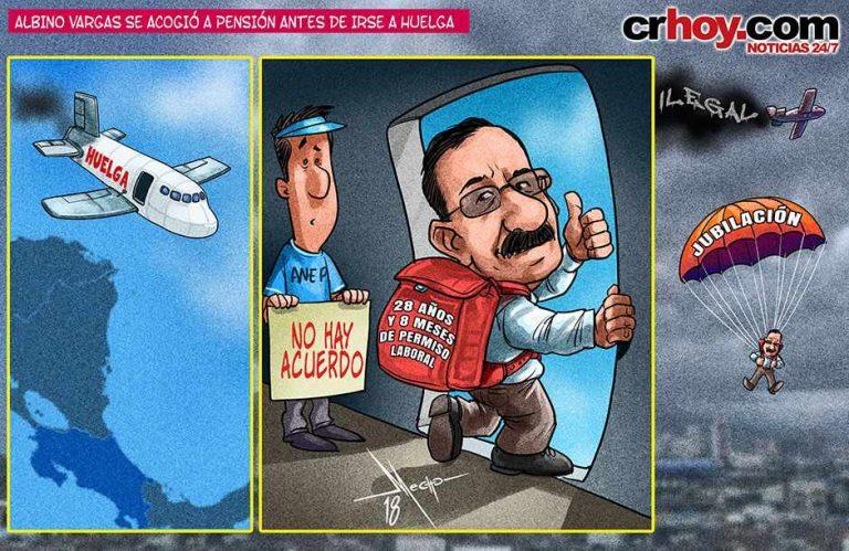 "Vargas Activates His ""Pension Chute"""