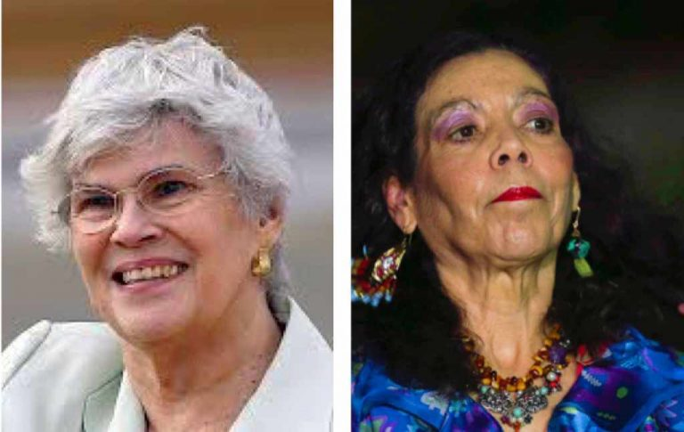 The Contrast of Two Of Nicaragua's Most Prominent Ladies: Violeta and Rosario