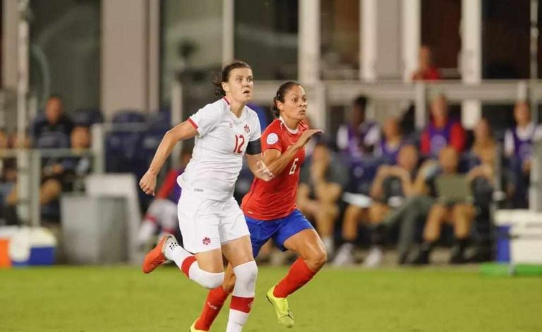 Canada downs Costa Rica 3-1 in Women's World Cup Qualifying
