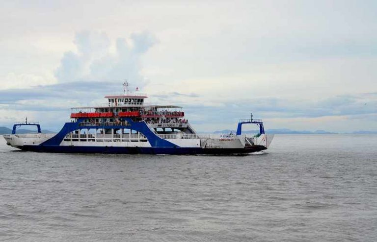 Paquera and Playa Naranjo ferry service suspended due to weather conditions