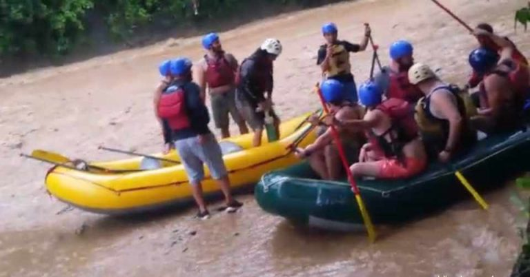 Four U.S. Tourists And Guide Dead In Rafting Accident in Quepos