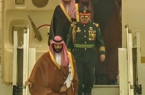 Saudi Prince arrives in Argentina for G-20 Summit