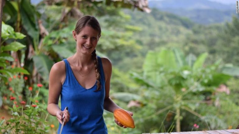 She found a chocolate farm in Costa Rica … and stayed