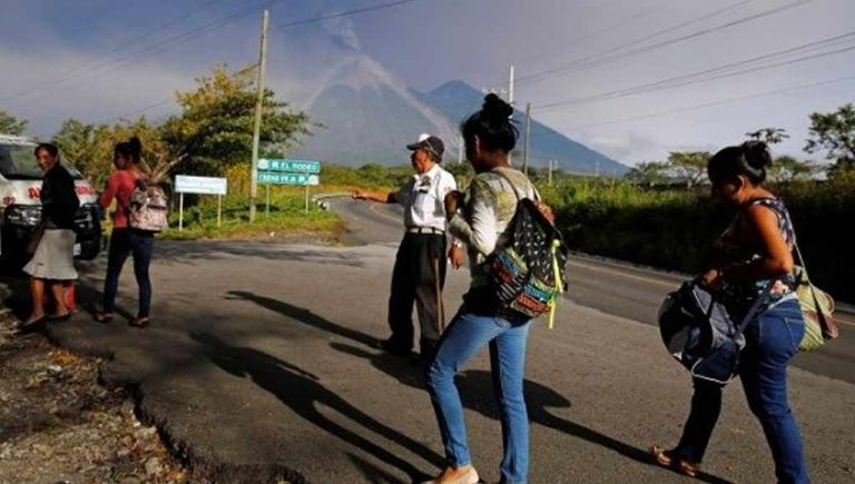 Thousands Evacuated as Guatemala Volcano Erupts Again
