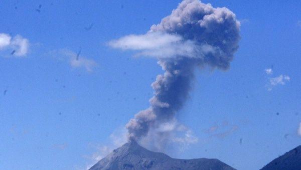 Guatemala's Fuego Volcano on Verge of Eruption