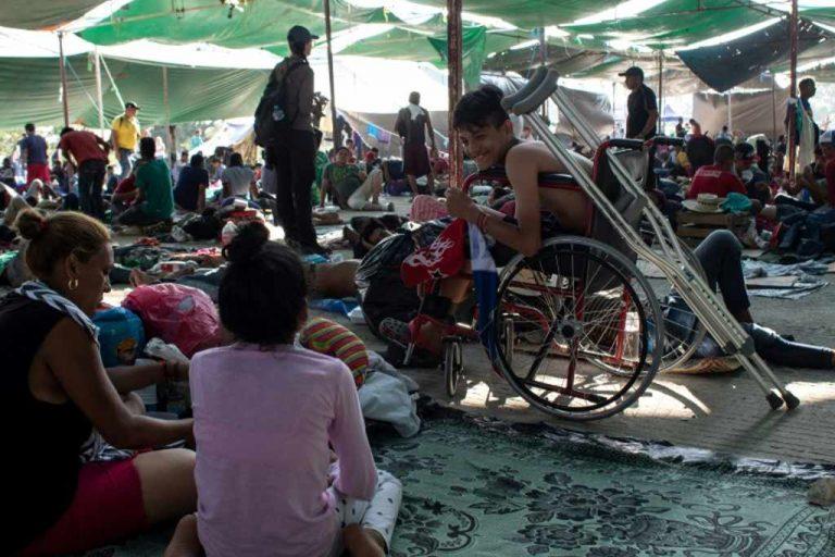 Nicaraguans feel 'safer' in migrant caravan than back at home