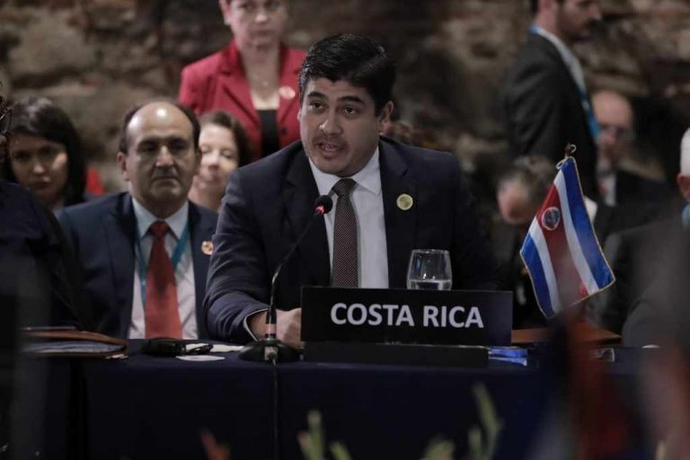 Nicaragua qualifies president Carlos Alvarado as 'ill-educated, meddlesome, contemptuous and snoopy'