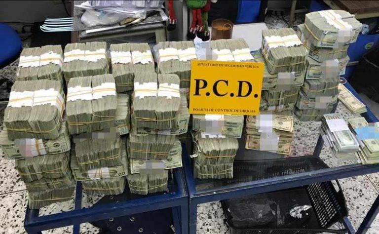 US$1.6 Million Dollars Seized At Nicaragua Border