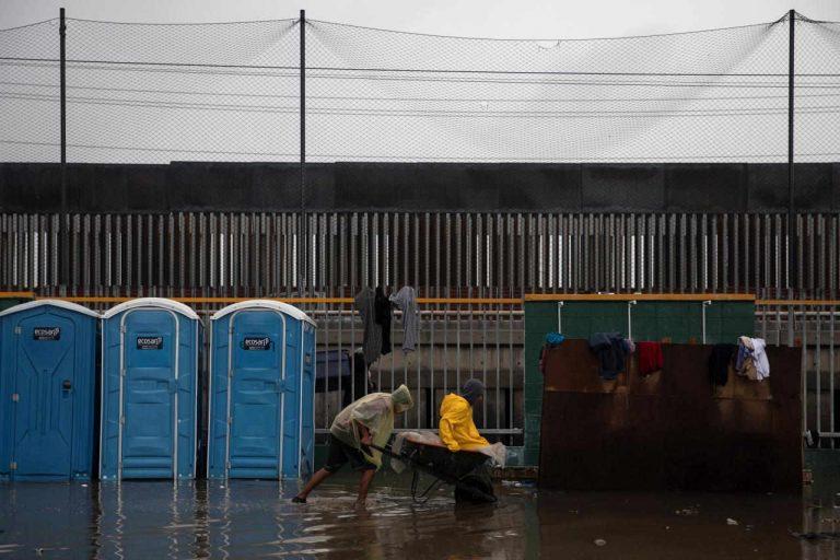Handful of caravan migrants launch hunger strike at U.S. border