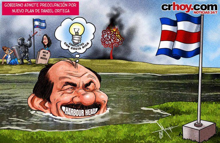 Costa Rica Concerned Over Daniel Ortega's New Plan