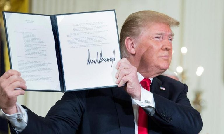 Sanctions law against the government of Nicaragua will soon be in the hands of Trump
