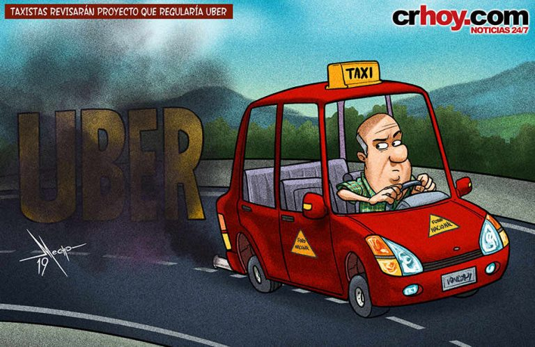 Taxi Drivers Continue Their Fight Against Uber