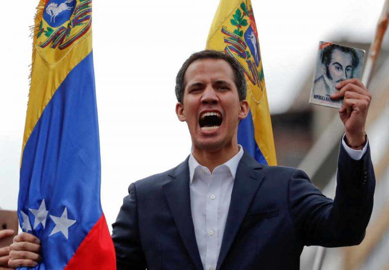Venezuelan Opposition Leader Juan Guaido Declares Himself President