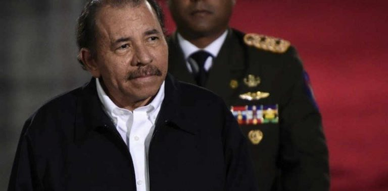 """Ortega is decorated by the Communist Party of Russia for """"contributes to peace"""""""