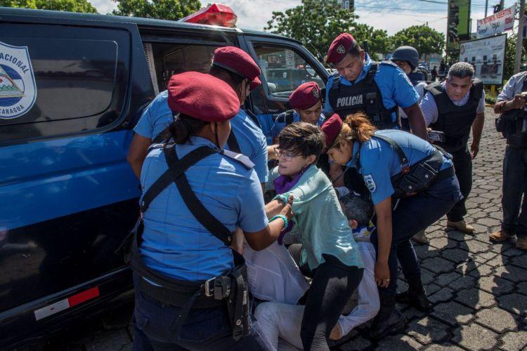 "Orteguista police puts into practice ""razzia"", according to the GIEI"