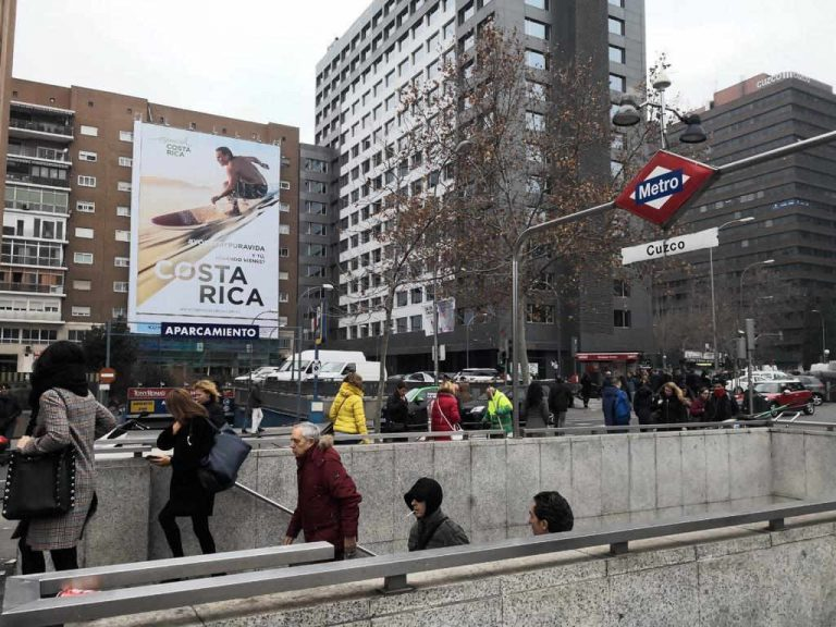 ICT launches first outdoor promotional campaign in Madrid