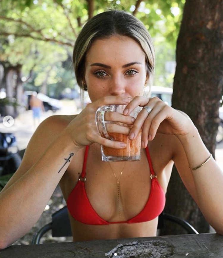 Charly Jordan Gets Conked With A Shower Head While Vacationing in Costa Rica