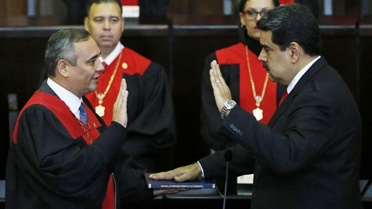 Maduro sworn as president but most of the Americas reject his legitimacy