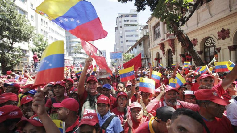 Venezuela's Maduro mocks Trump; vows to never surrender