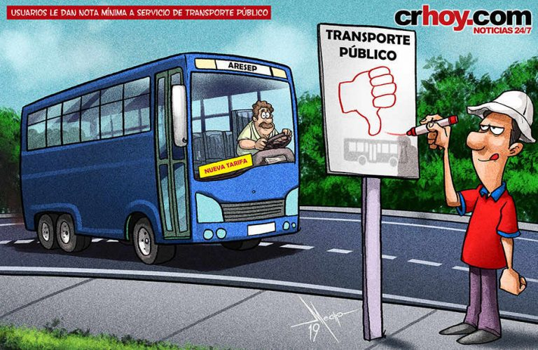 Users Give Public Transport A LOW Rating