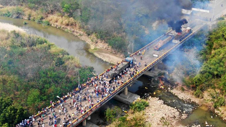 Five Killed, 285 Injured In Saturday's Clashes At Colombia – Venezuela Border