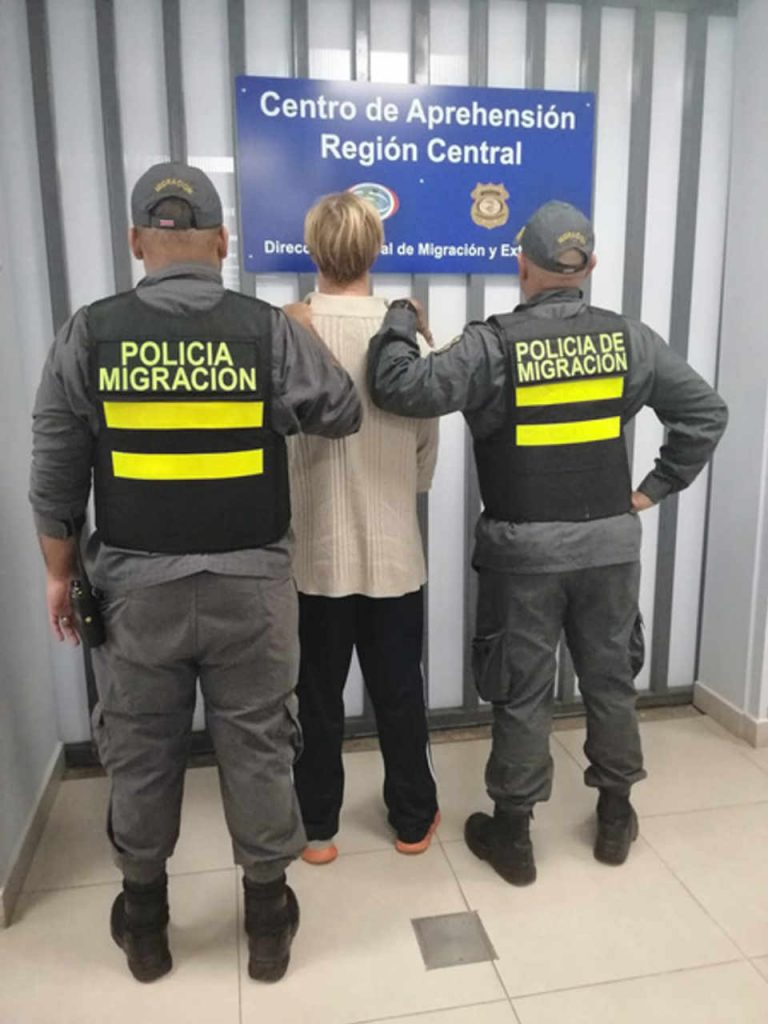 American Deported from Costa Rica