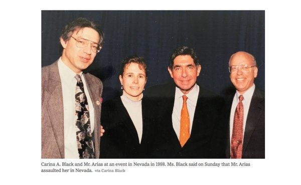 """U.S. Political Scientist Denounces in """"New York Times"""" A New Case of Sexual Harassment of Oscar Arias"""