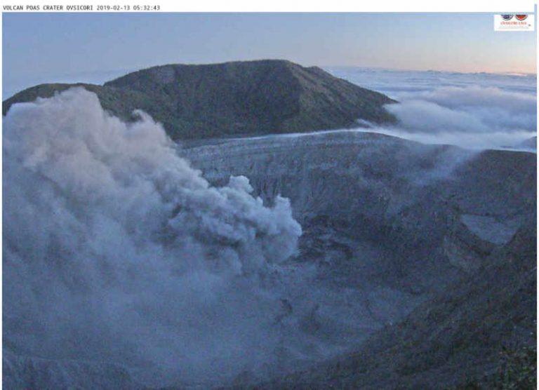 Poás Volcano Is Open