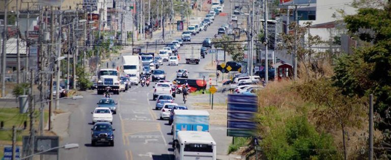 Costa Rica has the second worst roads in the region
