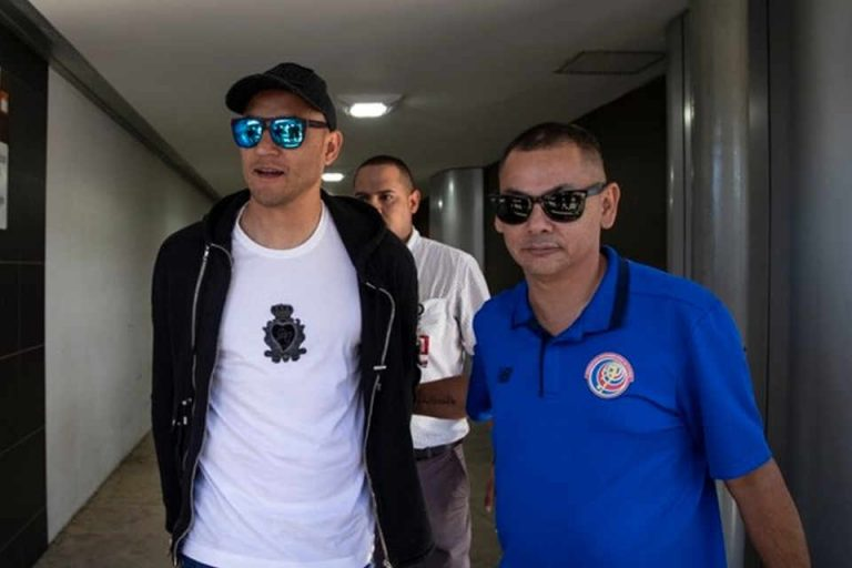 A Security Portocol Was Activated For The Arrival of  Keylor Navas in Costa Rica Sunday