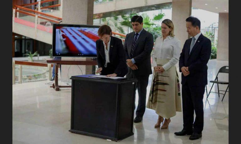 Costa Rica signs FTA with South Korea