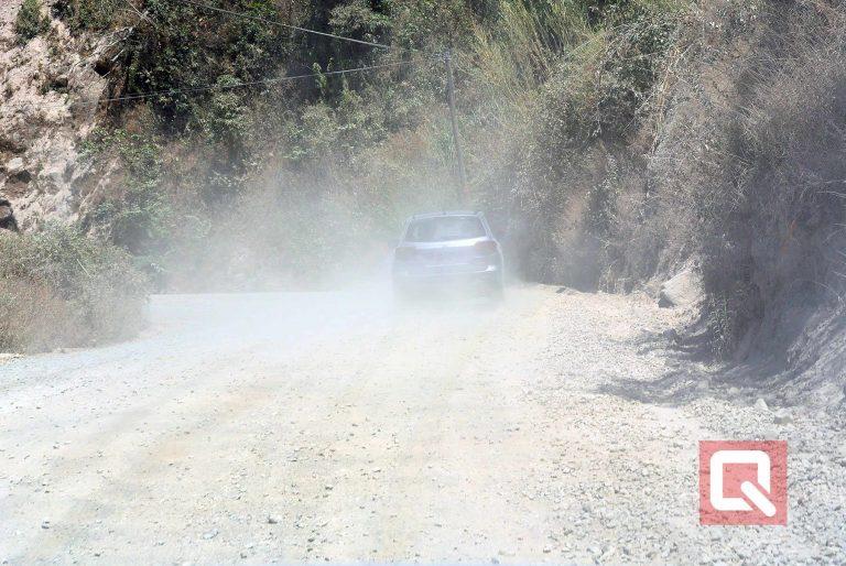 MOPT tests in Monteverde new model in road building