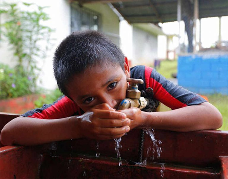 Costa Rica, one of two countries in Latin America where it's safe to drink tap water