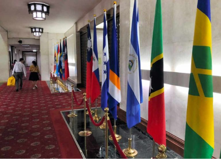 5 of 17 nations with diplomatic ties with Taiwan are in Latin America