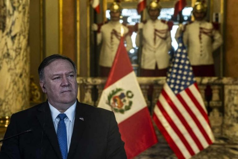 Pompeo building up support for Maduro ouster