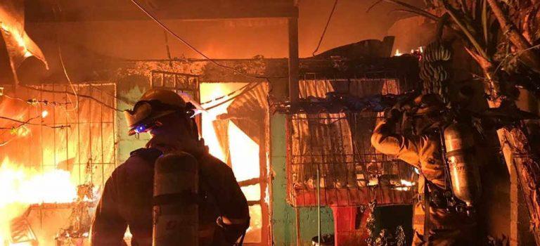 Voracious fire in La Carpio leaves seven dead: five adults and two children