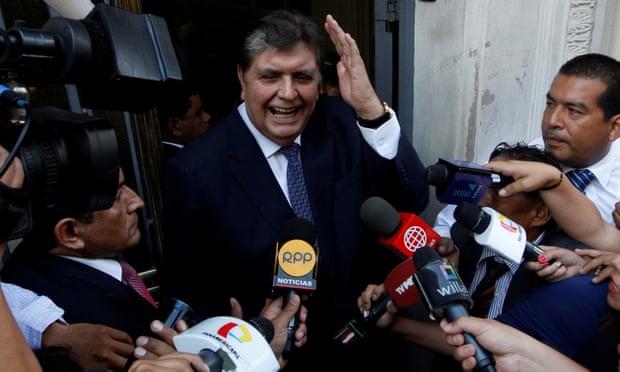 Former Peru President Shoots Himself Before Arrest