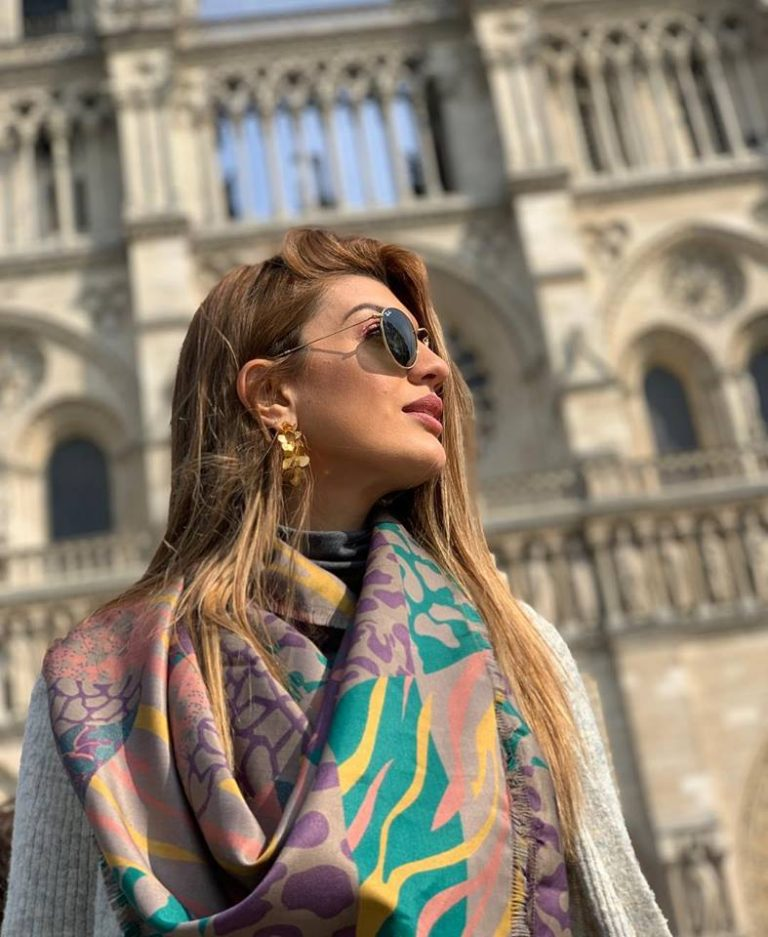 Tica who was at Notre Dame minutes before it caught fire tells her story