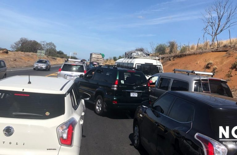 Vacation Traffic Collapses Major Routes