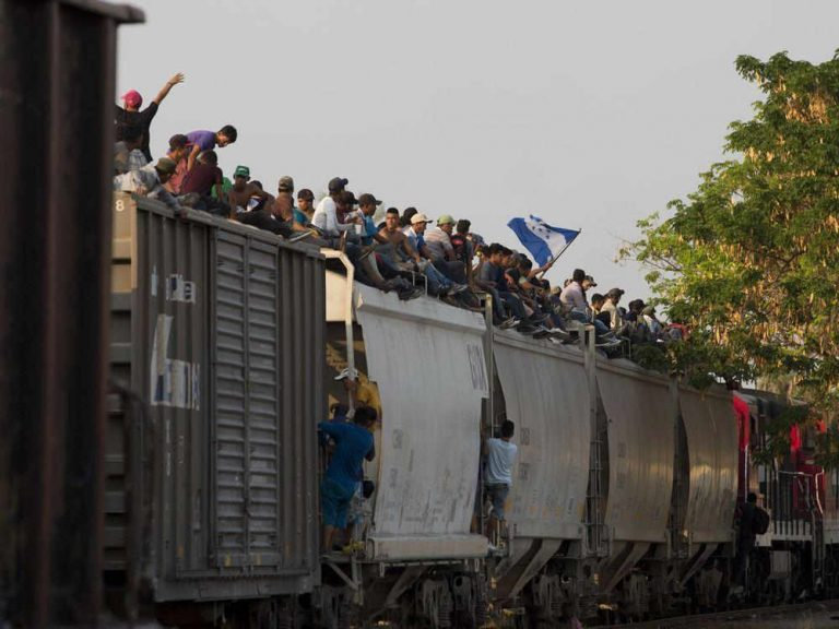 Latin American Migrants Turn to Train Hopping Amid Crackdown in Mexico